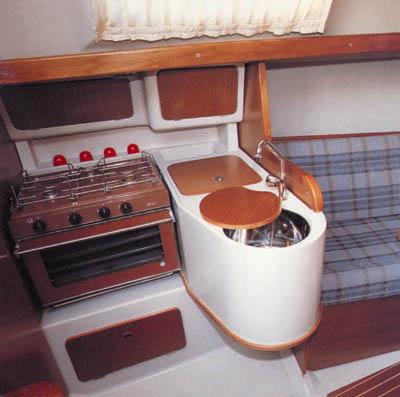 Cucine basculanti per barche
